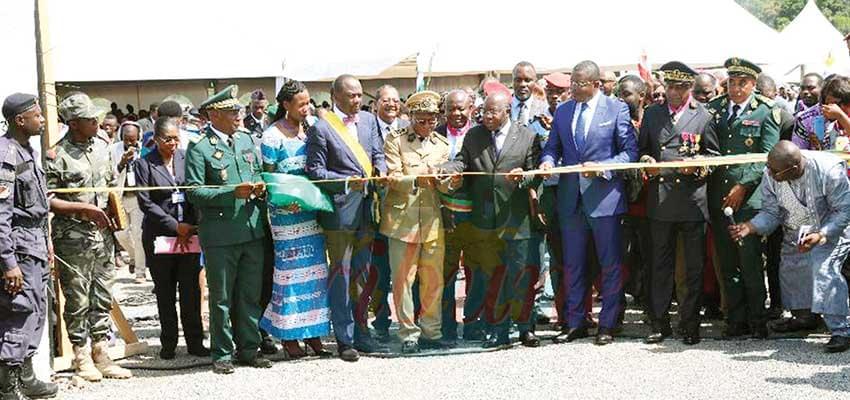 Sangmelima : le marché moderne inauguré
