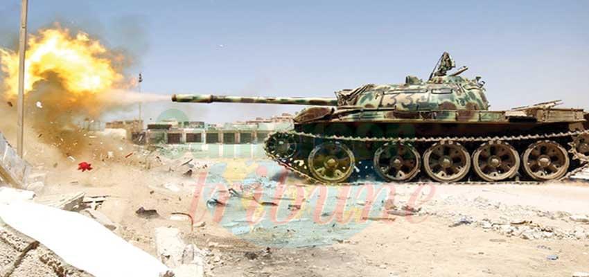 Libyenne: reprise des combats autour de Tripoli