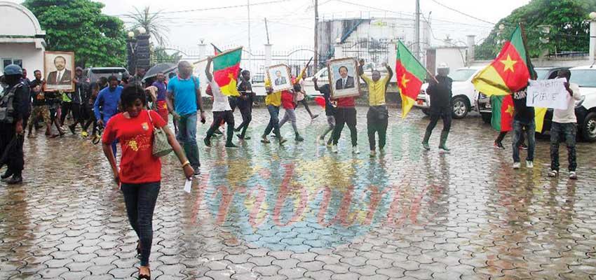 Unauthorised public manifestations :  Buea Remained Calm