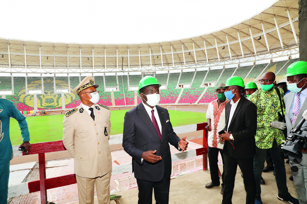 2021 AFCON Infrastructures in  Yaounde : Sports Minister Congratulates Contractors