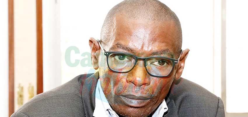Charles Etoundi, auteur de l'essai Fusion des bourses de valeurs mobilières de l'Afrique centrale.
