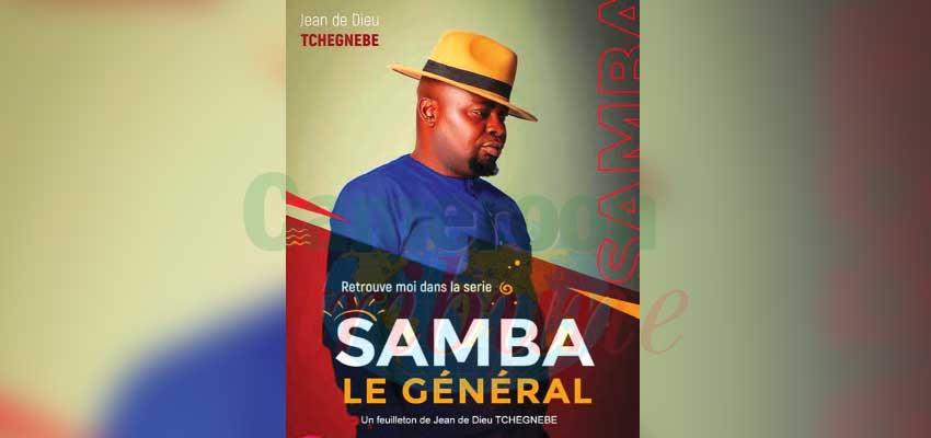 Samba le général de Jean de Dieu Tchegnebe cartonne sur la toile