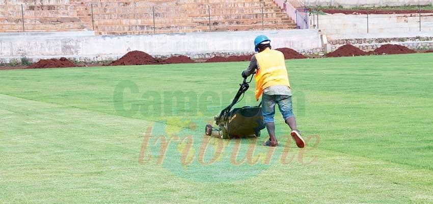 Bafoussam: les chantiers de la CAN se poursuivent