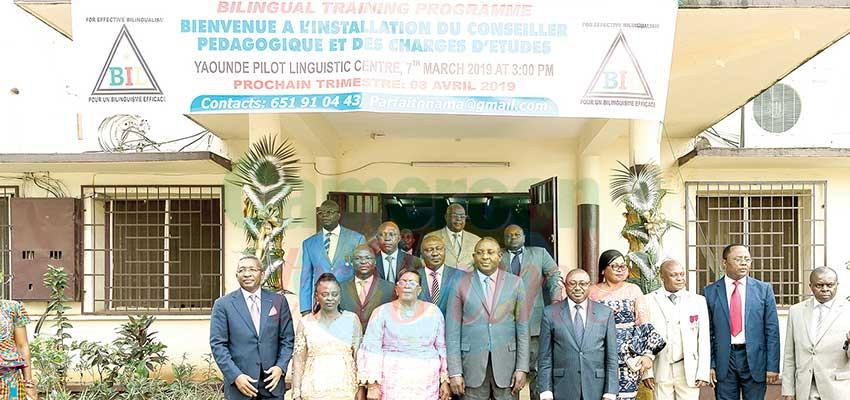 Image : Programme de formation linguistique bilingue: de nouveaux responsables à Yaoundé