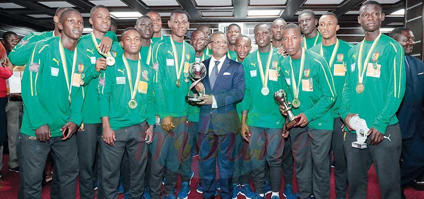 Can U17: les champions d'Afrique honorés