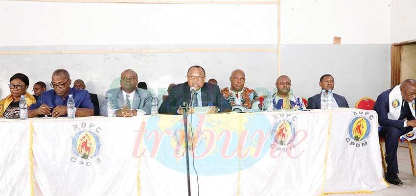 RDPC : mobilisation à Mbalmayo