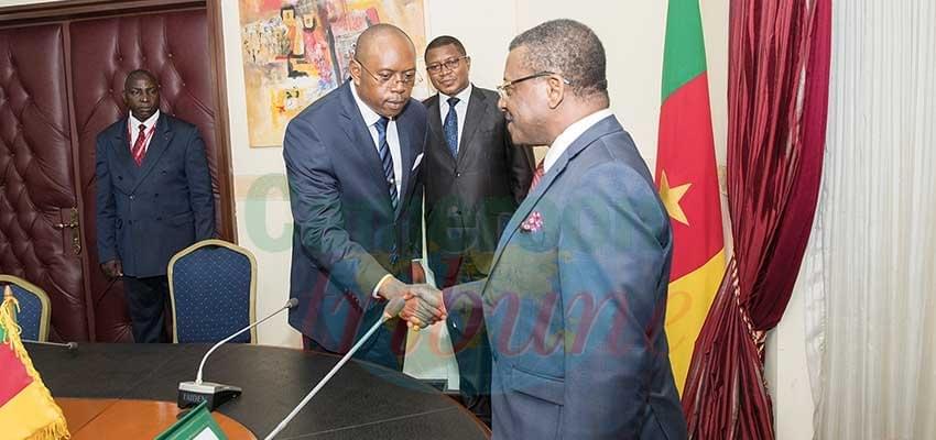 Image : Cabinet du Premier ministre:  le nouveau directeur prend fonction
