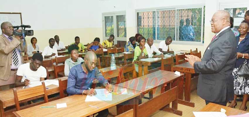Le ministre Joseph LE rassure les autres candidats sur la suite du concours.