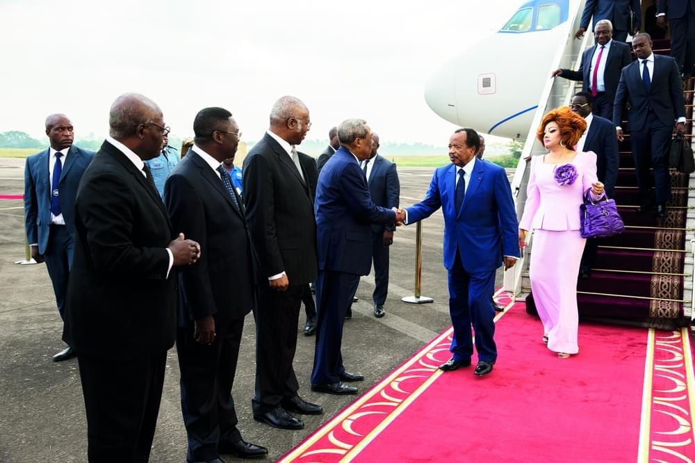 Image : Paul Biya a regagné Yaoundé