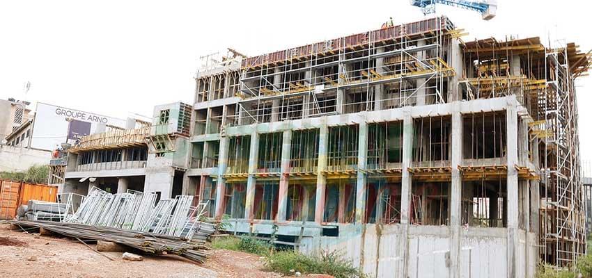 Immeuble siège de l'ART : la construction avance