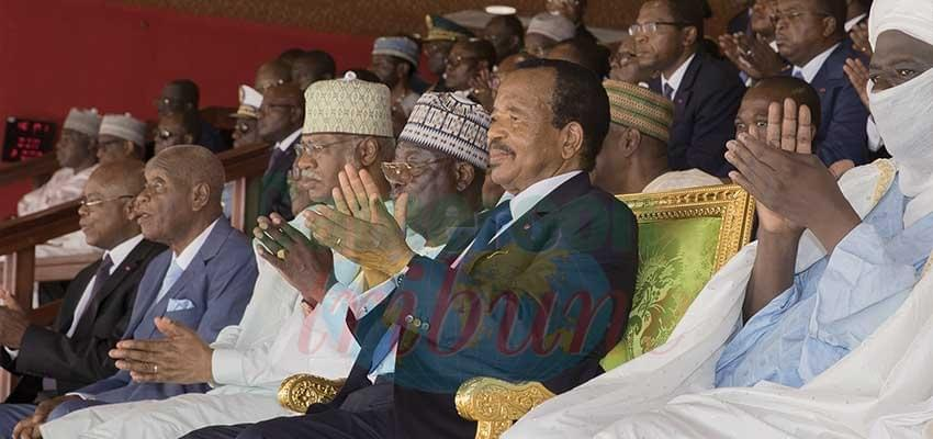 Paul Biya en toute convivialité