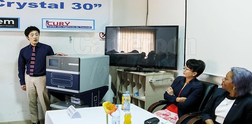 Image : Centre des urgences de Yaoundé: la Corée du Sud assure la maintenance