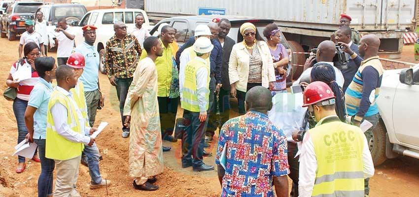 Amélioration de la voirie urbaine : les chantiers de Yaoundé en revue