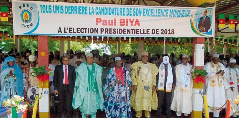 Image : Mora: l'UNDP et l'UPC avec Paul Biya