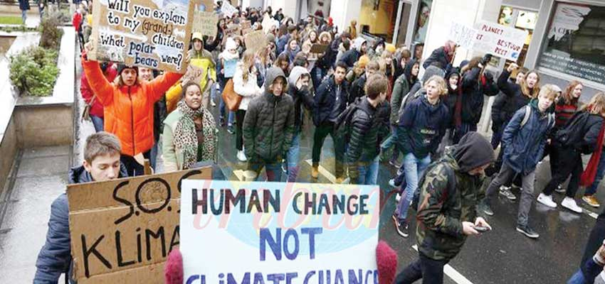 Climate change: Youth Demand Urgent Measures