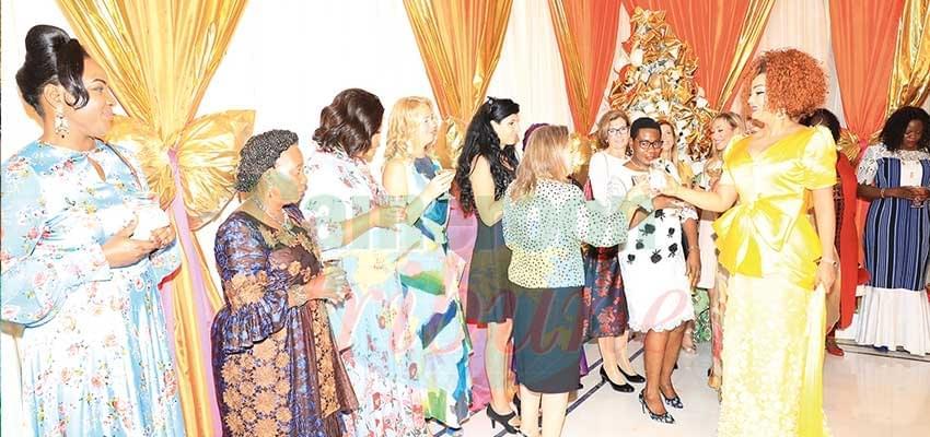 Image : New Year Wishes: Happy New Year Madam Chantal Biya