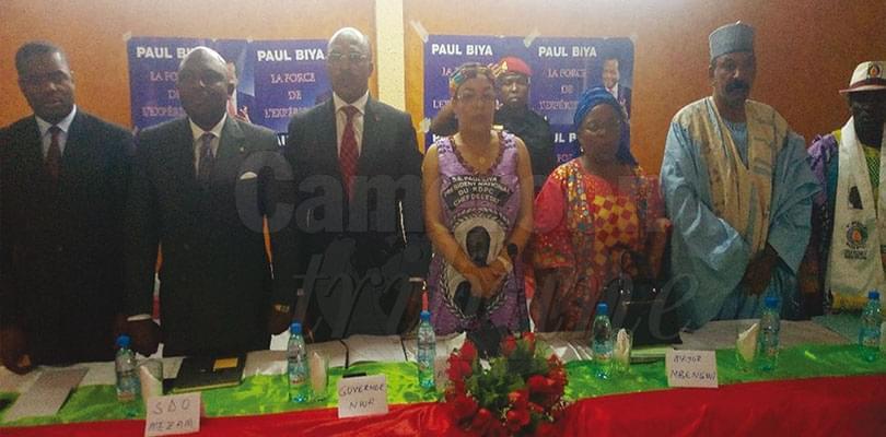 Image : North West: Aminatou Ahidjo Enforces Paul Biya's Campaign