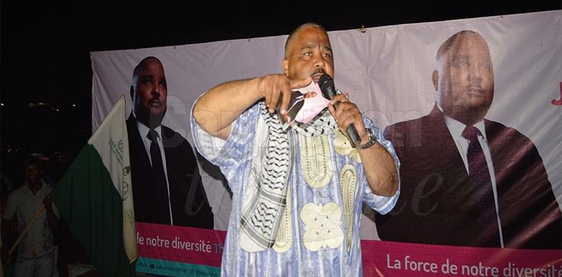 Image : Joshua Osih veut désenclaver l'Adamaoua