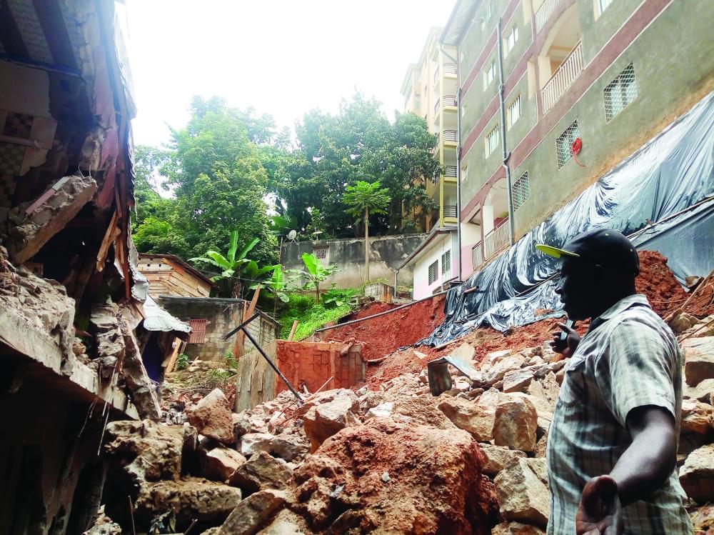 Déjà touchée une fois, la maison reste exposée à un autre effondrement.