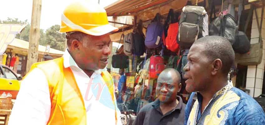 Bertoua : Jean Marie Dimbele à pied d'œuvre