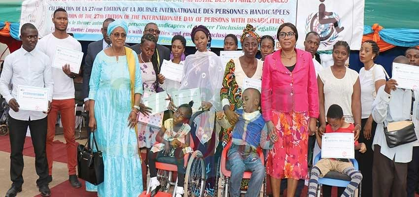 Personnes handicapées: Le Minas encourage l'autonomisation