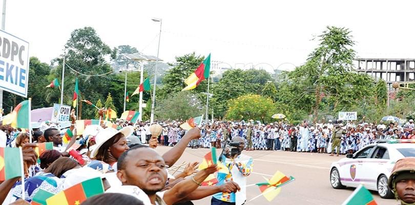 Swearing-in Ceremony: Effervescence Envelops Biya's Passage
