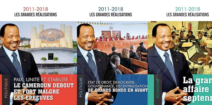 Image : 2011-2018: president Biya's Multisector Achievements Recorded