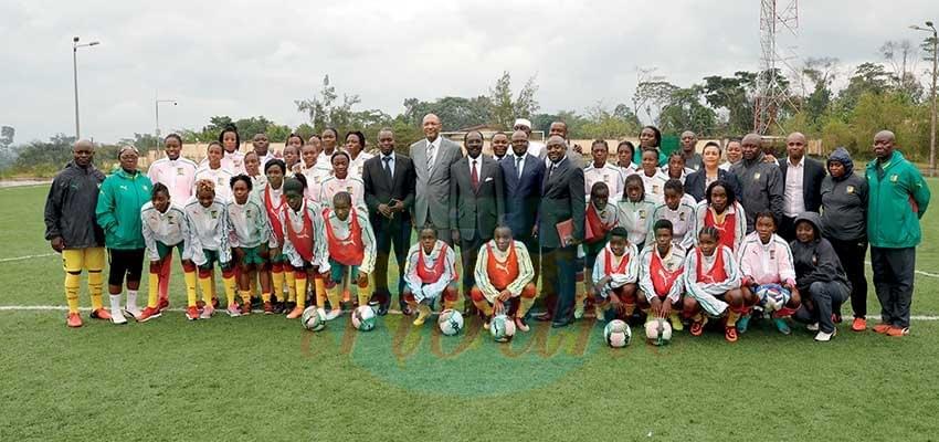 Footbal féminin: le Minsep encourage les Lionnes