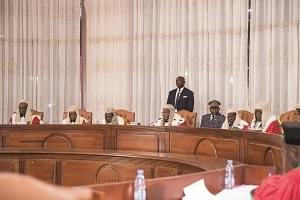 Image : Constitutional Council: Exhaustive Hearing Given To Petitions