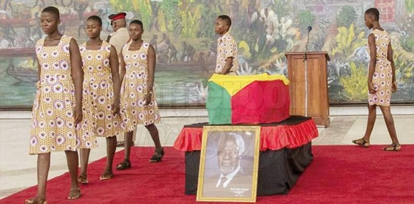 Image : Obsèques officielles: le Ghana rend hommage à Kofi Annan