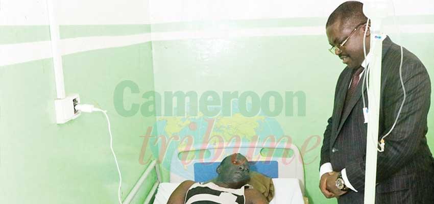 Accident d'un hélicoptère de l'armée: le réconfort du chef de l'Etat aux blessés