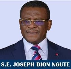 Image : Chief Joseph Dion Ngute new Prime Minister  of Cameroon
