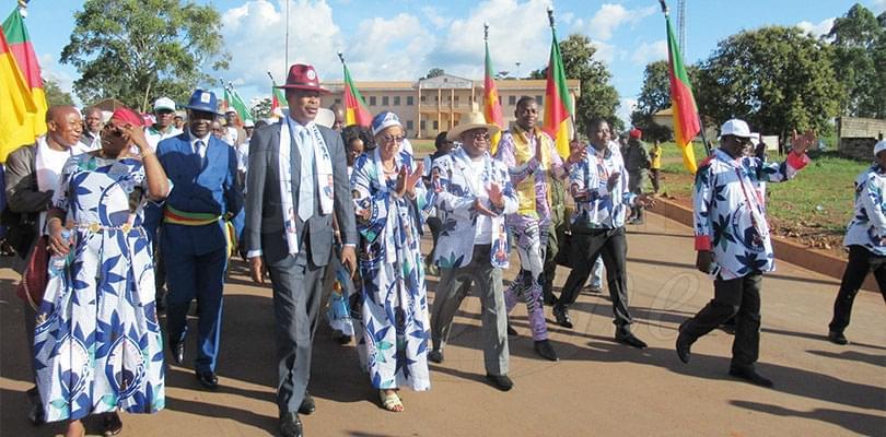 Image : Abong-Mbang: mobilisation d'associations de jeunes pour un plébiscite