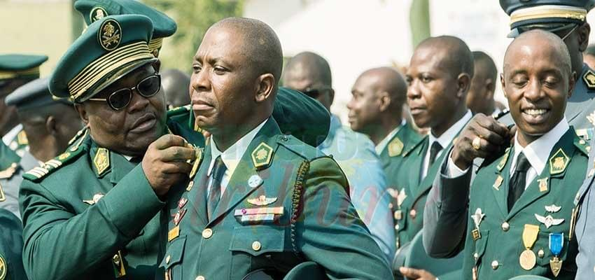 Image : Defence and Security Personnel  Awarded Epaulets