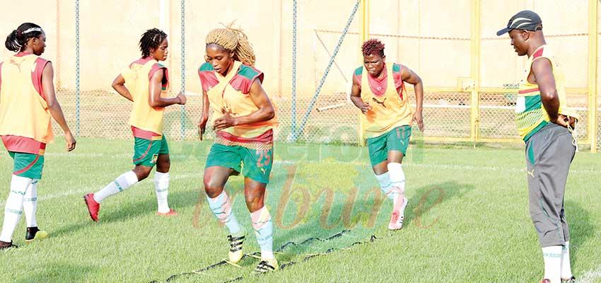 Mondial féminin de football: les Lionnes accélèrent leur préparation