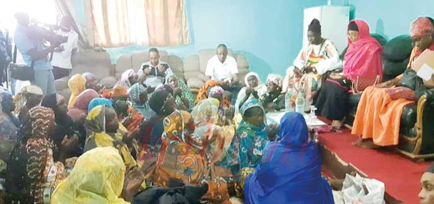 Mokolo : Aminatou Ahidjo galvanise les troupes