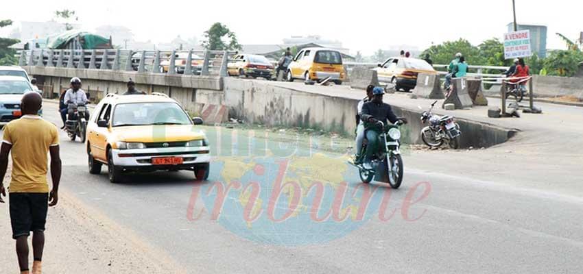 Réhabiliter comme sur le pont Mbanya.