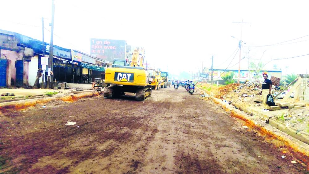 Road Rehabilitation : Users Decry slow pace of work