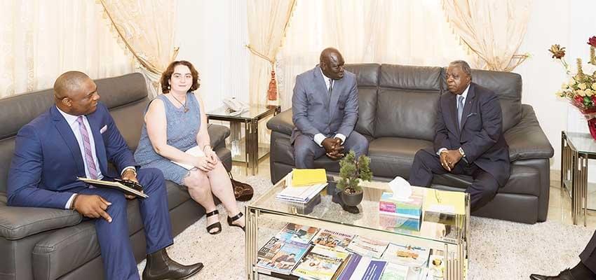 Image : Union de la presse francophone:  une délégation chez le MINCOM