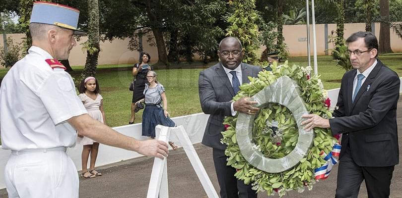 Image : Yaoundé: le centenaire de l'Armistice commémoré