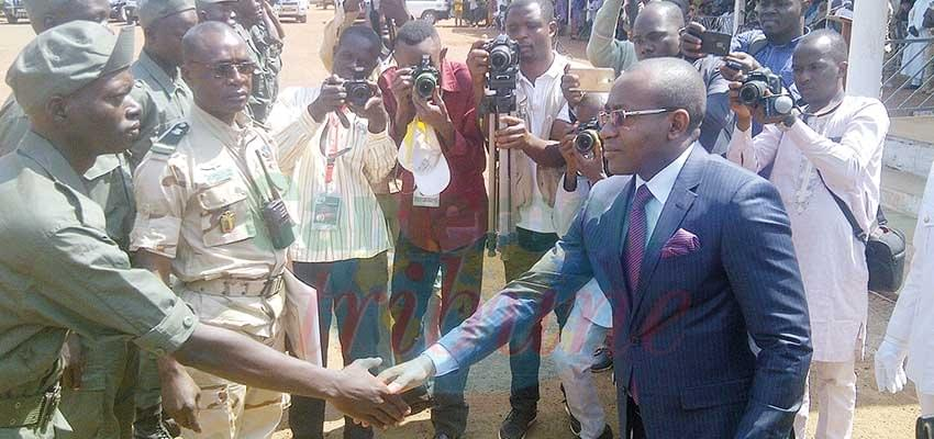 Image : ENAM: 412 élèves achèvet leur formation militaire
