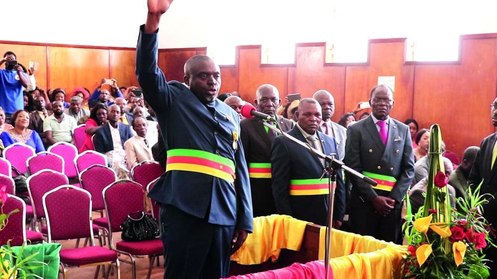 Bafoussam : les maires prêtent serment