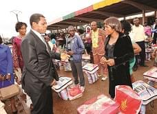 Plan d'assistance humanitaire d'urgence : 4000 bénéficiaires de plus