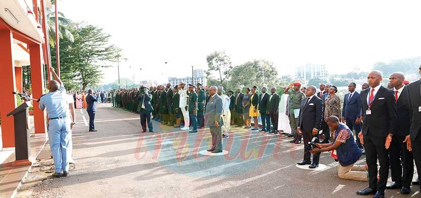 Enam: le Minfopra transmet les félicitations du chef de l'Etat