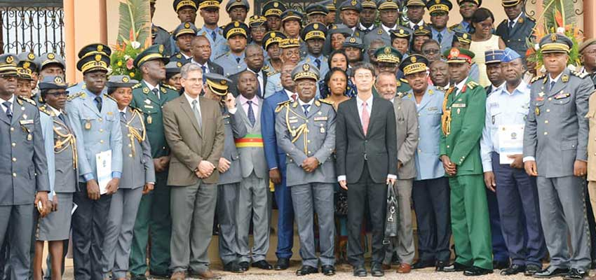 Maintien de la paix: 50 policiers et gendarmes formés