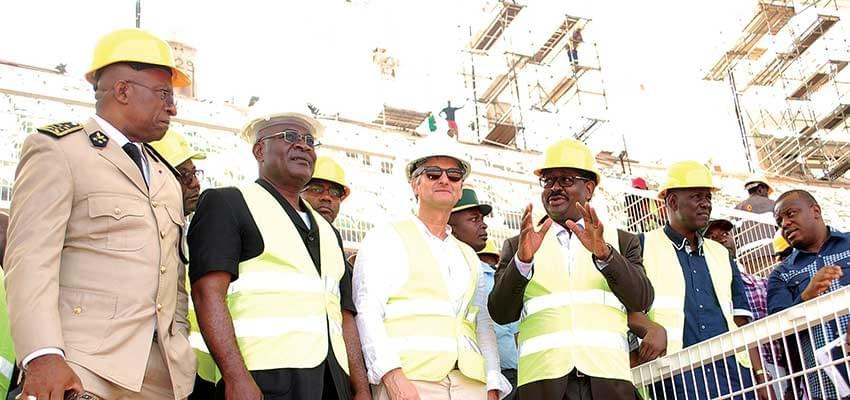 2021: Olembe Stadium Near Completion