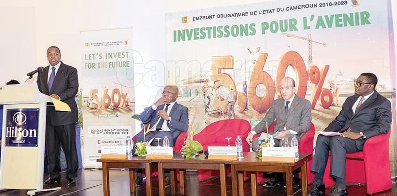 Image : Emprunt obligataire 2018-2023 : 150 milliards pour 40 projets
