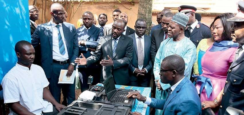 Image : Révision du fichier électoral en 2019: Elecam vise 10 millions d'inscrits