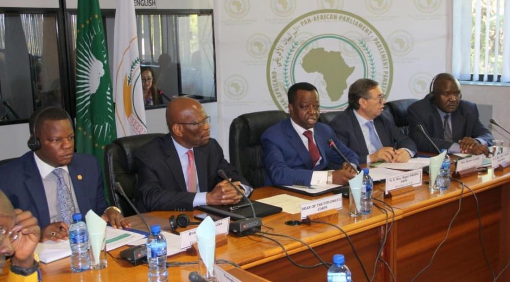 Les diplomates accrédités en Afrique du Sud ont été sensibilisés sur les enjeux de l'heure