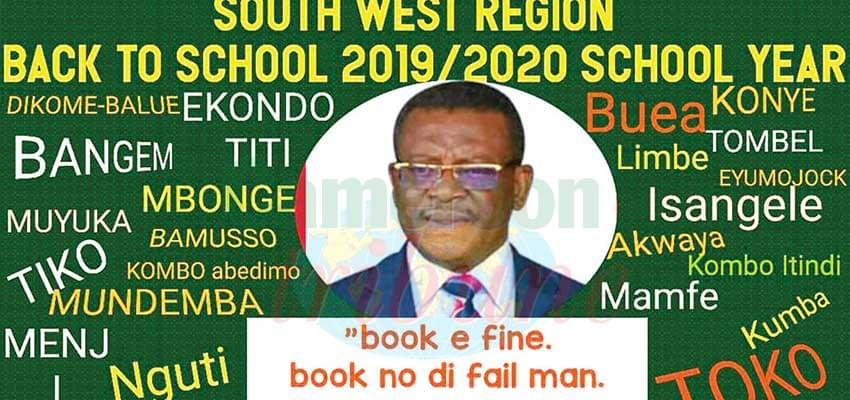 Prime Minister, Chief Dr Joseph Dion Ngute campaigning for effective resumption of classes.